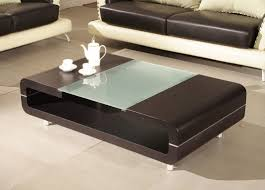 coffee table cozy coffee table modern designs all glass coffee