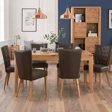 Dining Room Furniture Montreal Cookes Collection Montreal Extending Dining Table And 6 Chairs