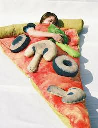 pizza dog bed pizza bed sleeping bag on the hunt