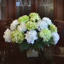 Flower Arrangement Hydrangea Silk Flower Arrangements Foter