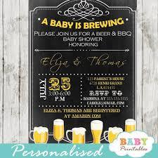 a baby is brewing a baby is brewing baby shower bbq invitation d155 baby