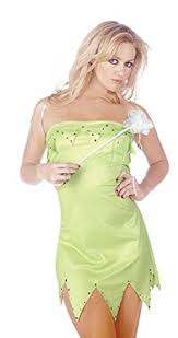 Halloween Costumes Tinkerbell Oromiss Womens Ladies Tinkerbell Fancy Dress Halloween Costume