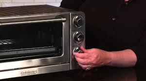 Bake Salmon In Toaster Oven Cuisinart Convection Toaster Oven Broiler Tob 60n Demo Video