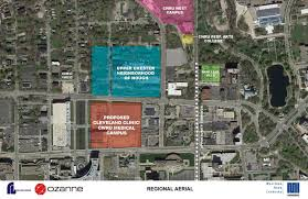map of cleveland clinic cleveland development update