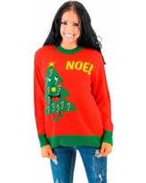 fall savings on ugly christmas sweater women u0027s light up reindeer