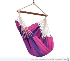 Hanging Chair Hammock 15 Sitting Hammocks For Comfy Outdoor Seating Home Design Lover