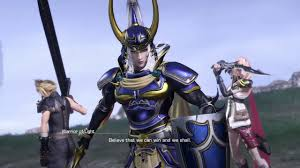 Warrior Of Light Dissidia Final Fantasy Nt Warrior Of Light Game Play Demo