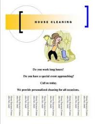 free house cleaning flyer templates house cleaning flyers free hatch urbanskript co