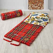 plaid sleeping bag land nod
