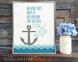 Anchor For The Soul Etsy - anchors etsy
