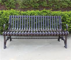 iron park benches hot sale cast iron feet garden park bench parts buy cast iron