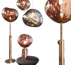 tom dixon lamp melt pendant light hivemodern etch pendant light