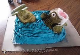 bass fish cake coolest bass fish birthday cake