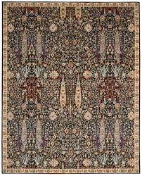 9x9 Area Rug by Nourison Timeless Tml18 Navy Area Rug Free Shipping
