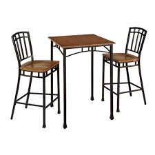 Indoor Bistro Table And Chairs Indoor Bistro Table Set Bellacor