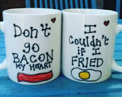 his mugs his and hers mugs etsy