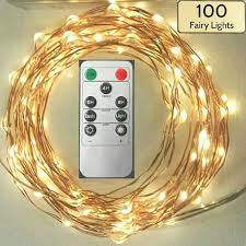 remote control battery lights remote controlled lights 100 fairy lights 17 foot 5m wire strand