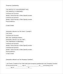 guardianship letter template south africa letter idea 2018