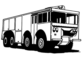 coloring page fire engine img 8167