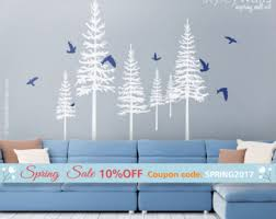 Tree Wall Decals For Living Room Cherry Blossom Branch And Birds Wall Decal Extra Large Branch