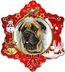 bullmastiff ornament ebay