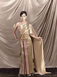 Thai Wedding Dress 79 Best Thai Gowns Images On Pinterest Thai Dress Thai Wedding