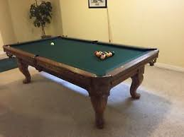 ebonite pool table 3 piece slate pool billiards miniature table sports bar man cave 40 toys