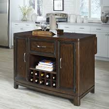 kitchen island wood top buy alcott hill harwick kitchen island with wooden top