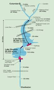 South Carolina lakes images Lake maps navigation santee cooper lakes santee cooper jpg