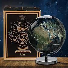 gentlemen u0027s hardware 31cm city lights globe lamp yellow octopus
