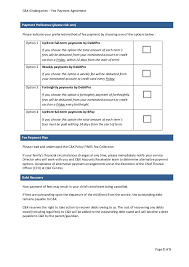 payment plan agreement payment plan agreement template 110