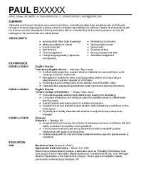Sample Resume For English Tutor by English Tutor Resume Sales Tutor Lewesmr