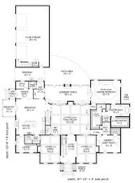 colonial style floor plans baby nursery floor plans with breezeway modern style house plan