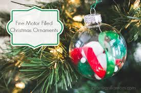 motor filled ornaments plain vanilla