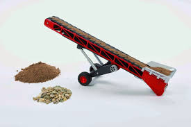 preschool engineering toy review bruder conveyor belt
