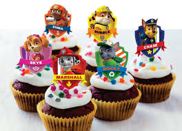 paw patrol cupcake toppers 24