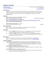 Student Resume Format Resume Format For Engineering Students Freshers It Resume Cover