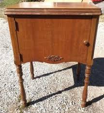 Singer Sewing Machine Desk Empty Vintage Singer Sewing Machine Cabinet Desk Table 15 66 125
