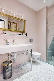Pink Bathroom Storage Pink And Marble Bathroom Bathroom Pinterest Dusty Pink