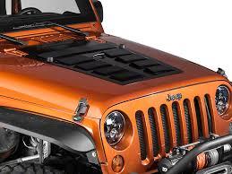 jeep hood vents rugged ridge wrangler louvered steel hood vent insert primer