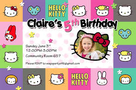 Hello Kitty Invitation Card Maker Free Hello Kitty Invites Template Resume Builder