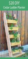 Free Outdoor Planter Box Plans by Ana White Cedar Vertical Tiered Ladder Garden Planter Diy Projects