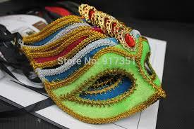 venetian masks bulk 6pieces lot deluxe masquerade party mask fan design venetian