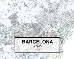 Spain Map Cities by Barcelona Spain Download Cad Map City In Dwg Ready To Use In