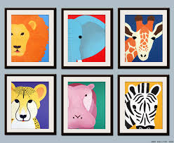 Jungle Nursery Wall Decor For Children Decor Jungle Nursery Safari