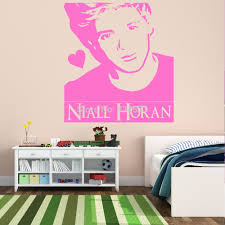 sticker wall decor picture more detailed picture about niall niall horan one directon 1d silhouette wall art stickers decal home diy decoration wall mural removable