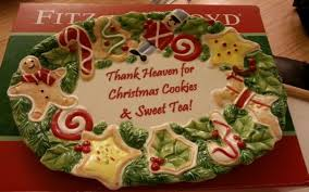 christmas cookie platters for giving collection on ebay