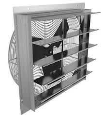 in wall exhaust fan for garage 10 industrial exhaust shutter fan 2 speed wall mount 4310 cfm