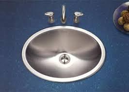 oval drop in sink houzer bathroom sinks
