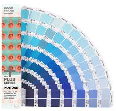 Pantone Color Blue Pantone Colour Bridge Coated And Uncoated Image Science